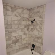 Beautiful Tiled Shower